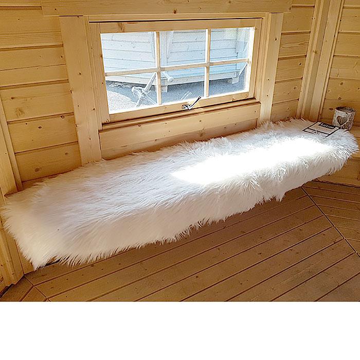 valkoinen turkistalja luxus -paketti5 kpl