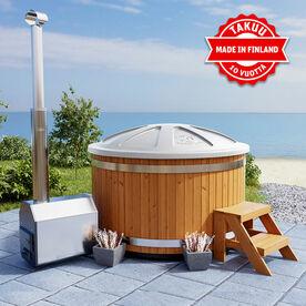 Premium Hot Tub -kylpytynnyrin muoviosilla 10 vuoden takuu!